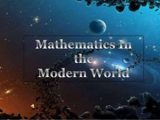  In 18th century mathematics is already a modern science  Mathematics begins to develop very fast because of introducing...