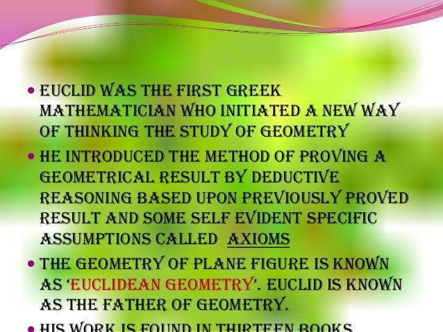 mathematics euclid s geometry my school ppt project