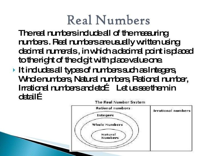 ... 18. \u003cul\u003e\u003cli\u003eThe real numbers ...