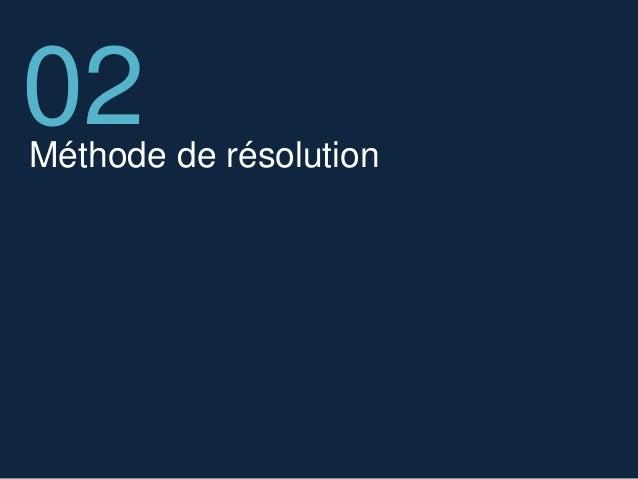 Méthode de résolution 02