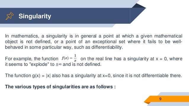 Resultado de imagen para singularity mathematics