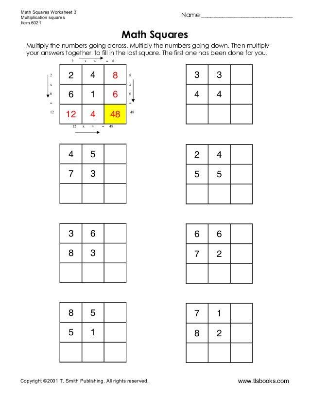 Mathsquares3
