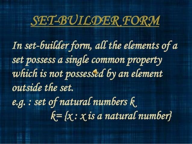 Maths sets ppt