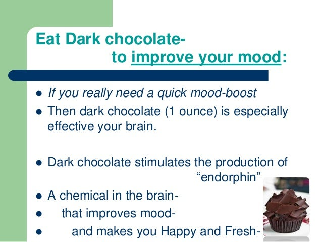 What Chemical Is In Chocolate That Makes You Happy