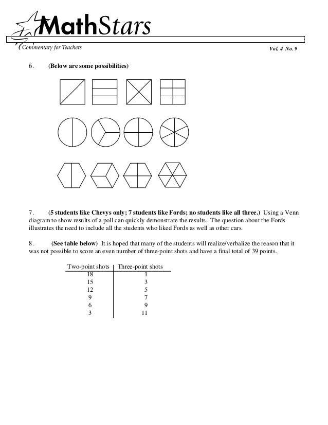 Math Stars Grade 4