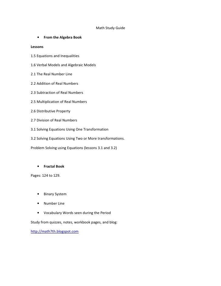 Period 3 study guide