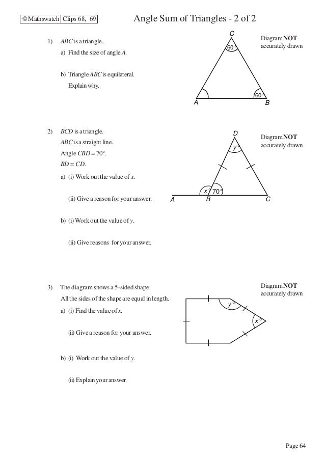 Maths Higher worksheets