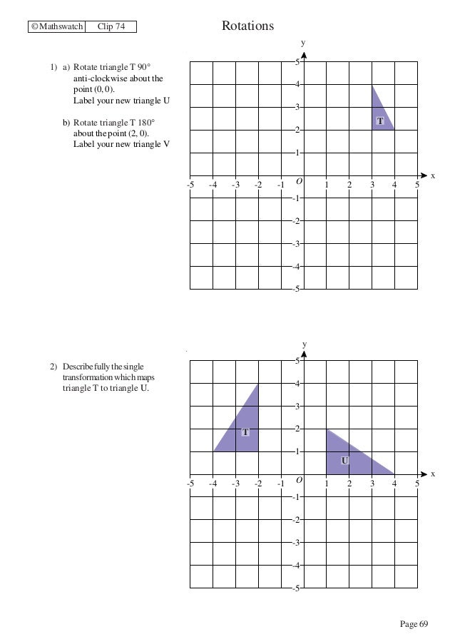 Sequence Of Transformations Worksheet Sharebrowse – Maths Transformations Worksheet