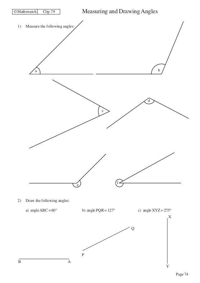 Gcse Maths Angles Worksheets worksheets for classifying – Gcse Maths Angles Worksheets