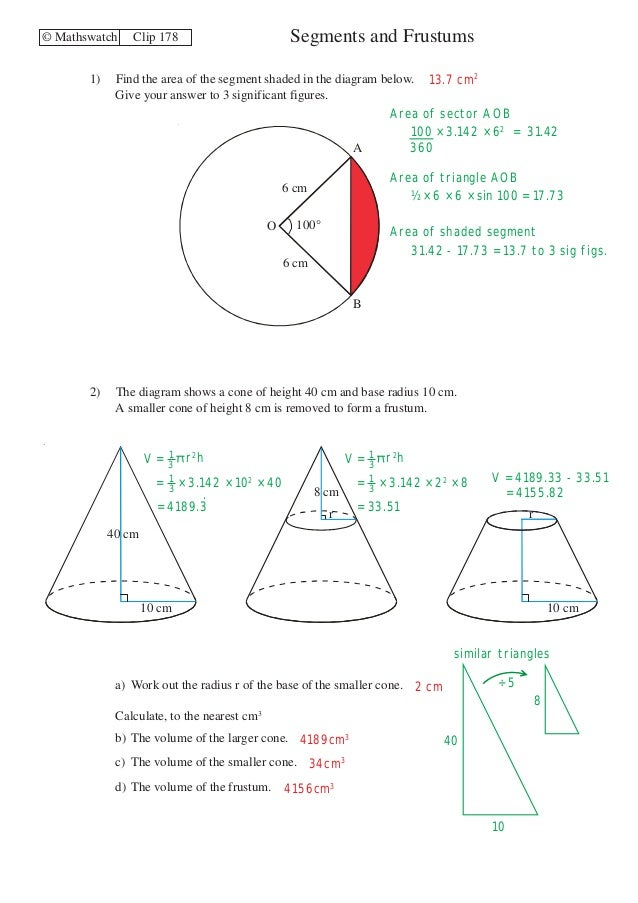 Maths Watch Worksheets Sample