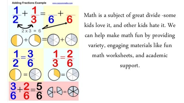 Maths worksheets to learn math in a easy way – Create Maths Worksheets