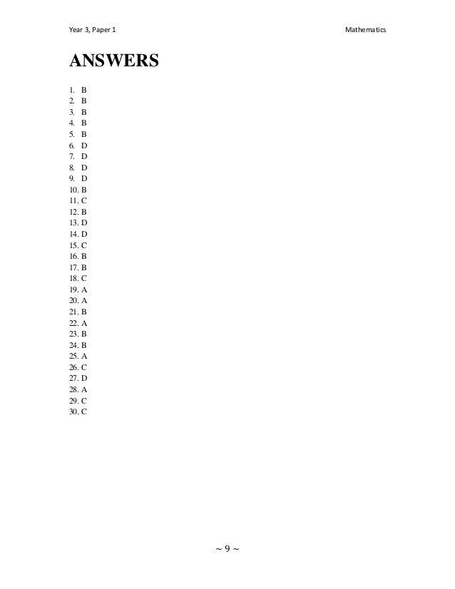 ANSWERS1. B2. B3. B4. B5. B6. D7. D8. D9. D10. B11. C12. B13. D14. D15. C16. B17. B18. C19. A20. A21. B22. A23. B24. B25. ...