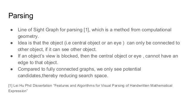 Math Symbol Recognition