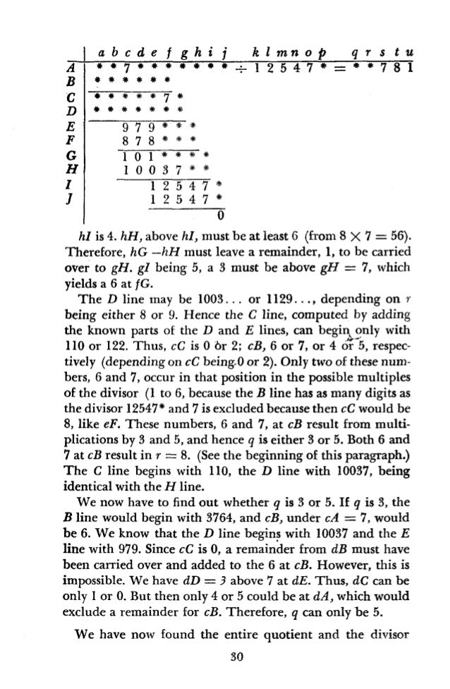 with the exception of the unit, p. We determine p by first determining gD. fD can only be 7 or 8, as can easily be deter- ...