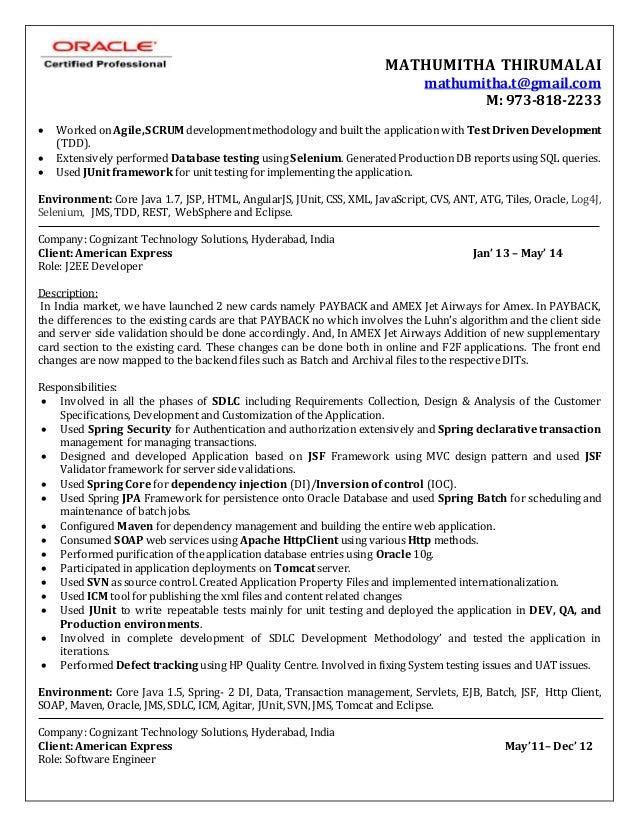 mathumitha thirumalai resume