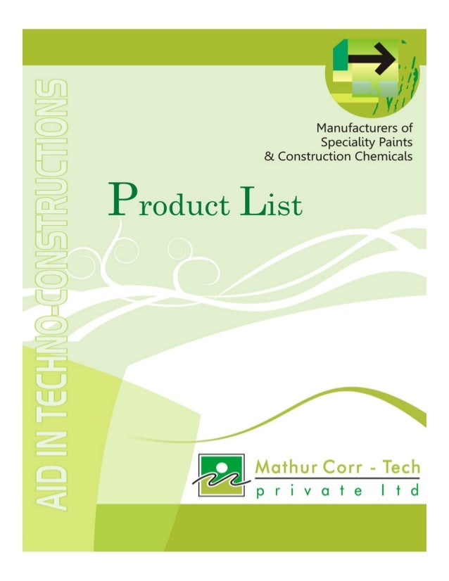 Mathur Corr Tech Private Limited, Coimbatore, Industrial Chemicals And Services
