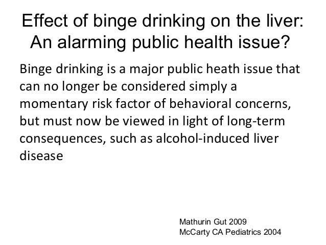 What Are The Health Concerns Related To Binge Drinking