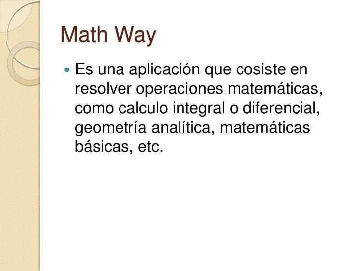 Mathway Mathway Espa Ol on