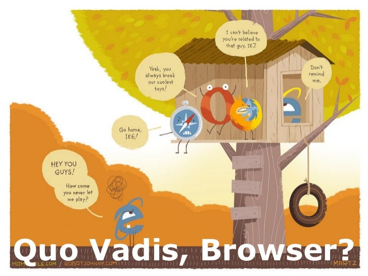 Quo Vadis, Browser?
