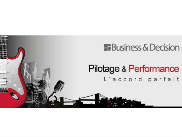 PILOTAGE ET PERFORMANCE         Business Intelligence,      Gestion de la Performance,    Gestion du Capital Informationne...
