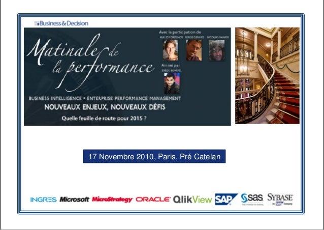 17 Novembre 2010, Paris, Pré Catelan