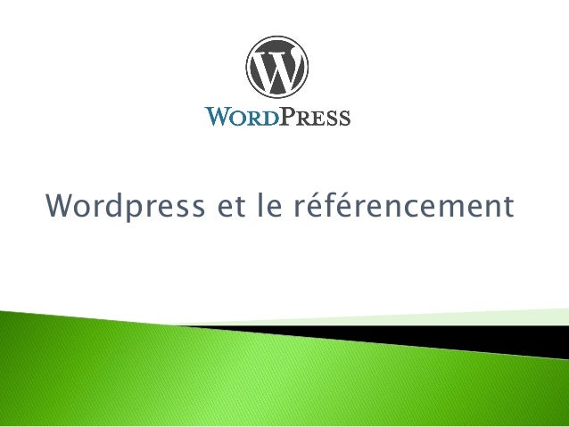 Wordpress et le référencement