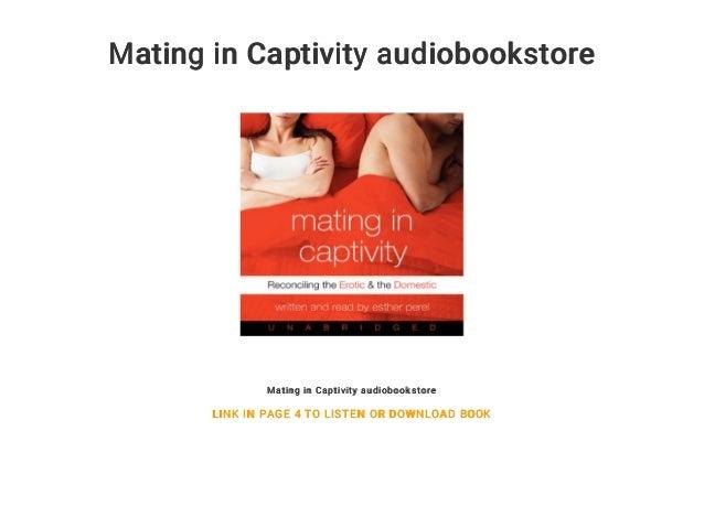 Mating In Captivity Audiobookstore