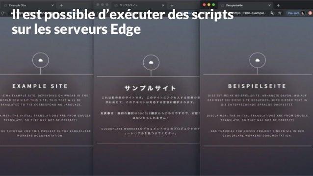 Quelques outils de Edge SEO