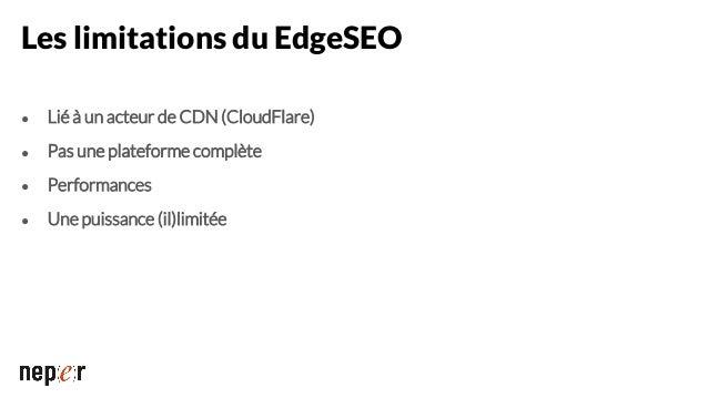 """Modifier les balises HTML """"SEO"""" • Balise<title> • Balisesmetarobots, metadescription… • Balises<link rel='canonical', next..."""
