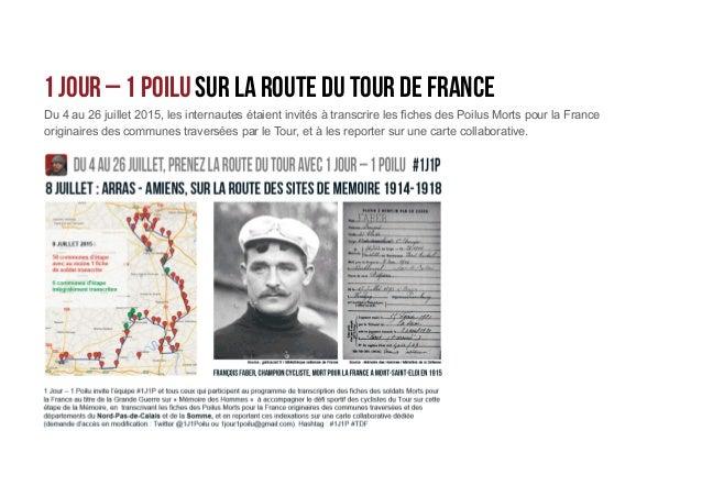 1 Jour – 1 Poilu sur la route du tour de France Le classement général – mais l'essentiel était de participer… et de rejoin...
