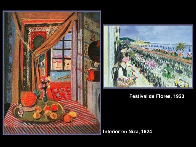 Festival de Flores, 1923  Interior en Niza, 1924