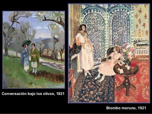 Bio mbo moruno, 1921  Conversación bajo los olivos, 1921