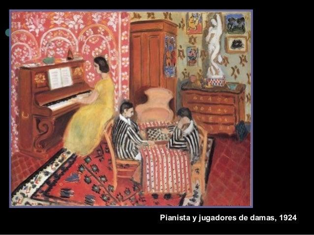 Pianista y jugadore s de damas, 1924