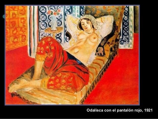 Odalisca con el pantalón rojo, 1921