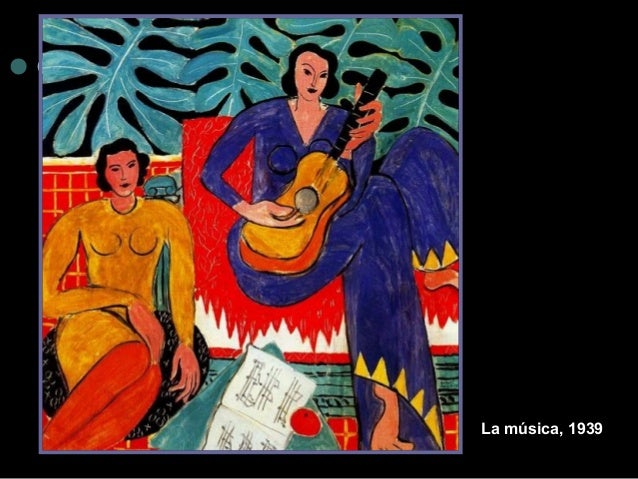 La música, 1939