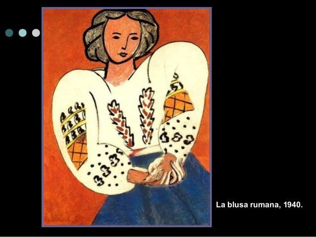 La blusa rumana, 1940.