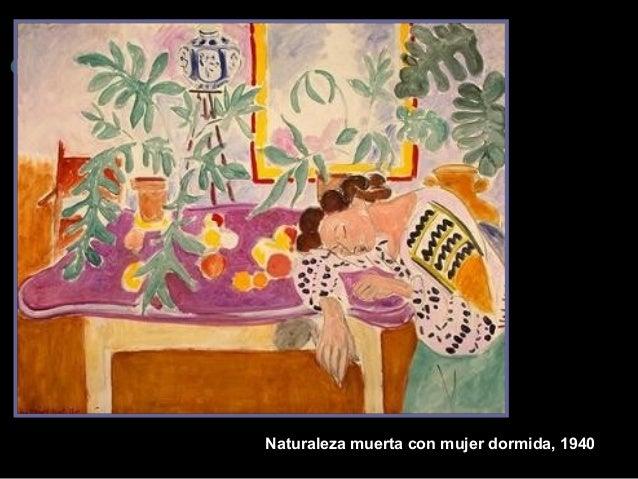 Naturaleza muerta con muje r dormida, 1940