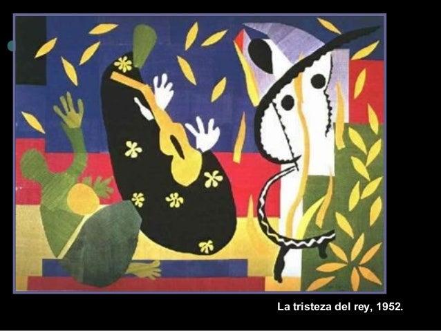 La tristez a del rey, 1952.