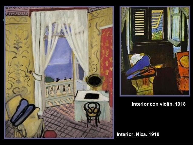 Interior con violín, 1918  Interior, Niz a. 1918