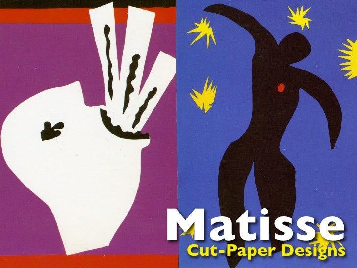MatisseCut-Paper Designs