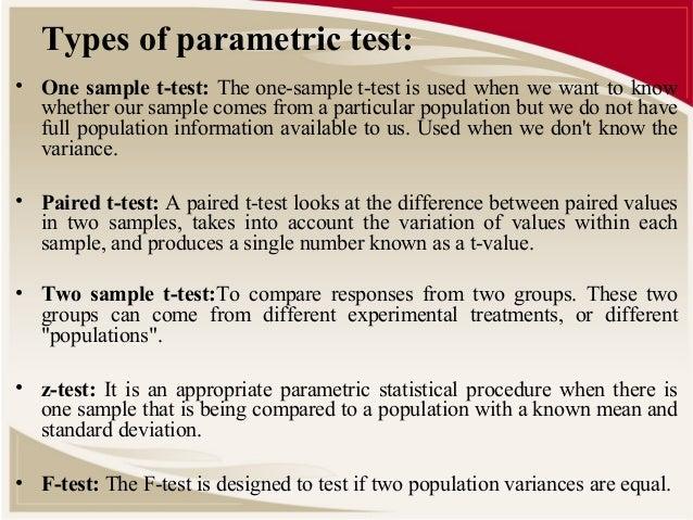 parametric hypothesis testing using MATLAB