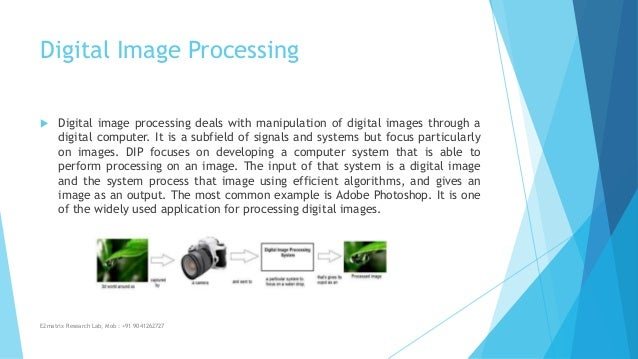 applications of digital image processing