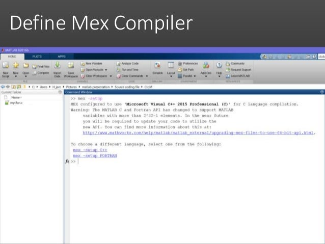 Matlab & C/C++ Interacting