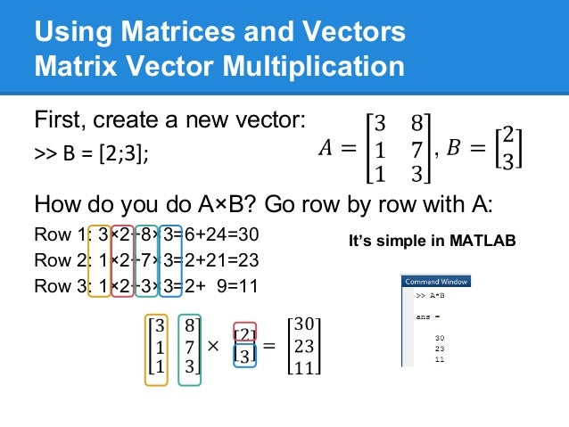 how to get seperate columns from a matrix amtlab