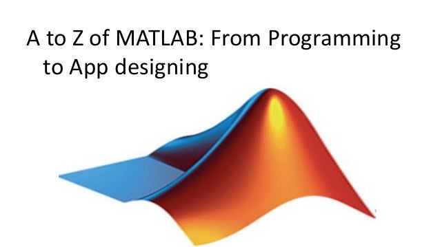 Matlab from a to z