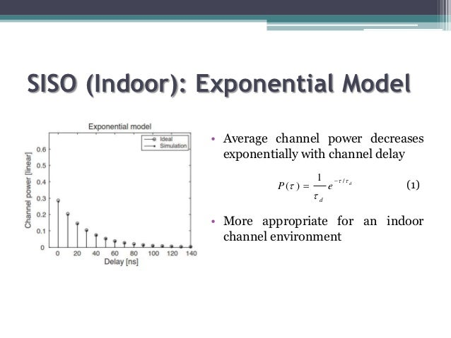 channel model Page 3 of 21 channel models: a tutorial 3 v1 created on 2/21/2007 a channel models: a tutorial many readers may be experts in modeling, programming, or higher layers.