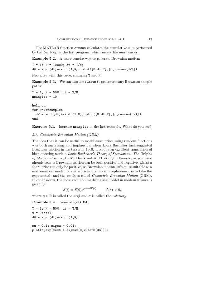 randn function in matlab