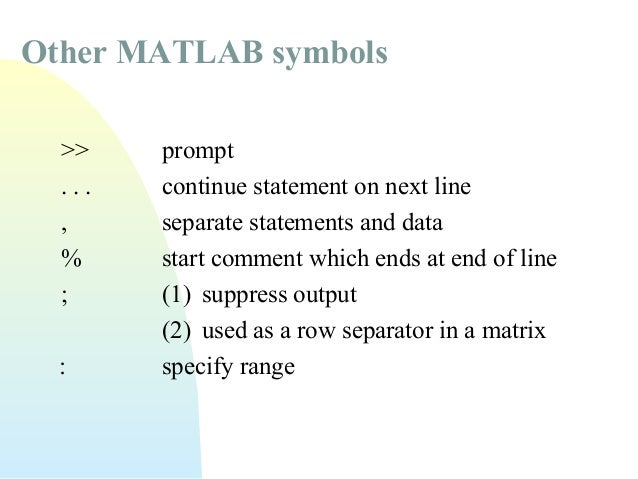 Matlab Practical And Lab Session