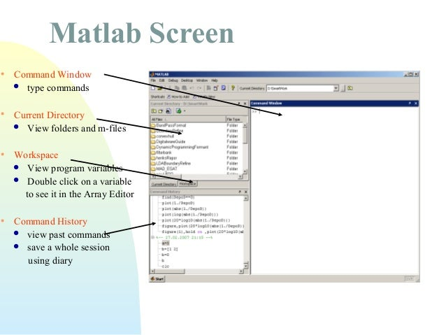 how to clear command history window in matlab