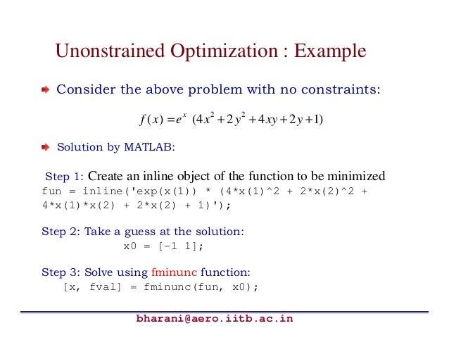 Matlab solved problems